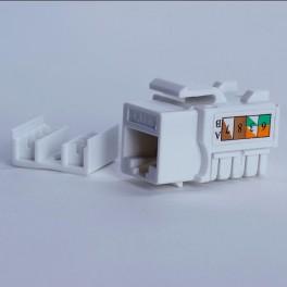 Moduł keystone UTP cat. 6 (RJ-45) 90° biały Digitalbox