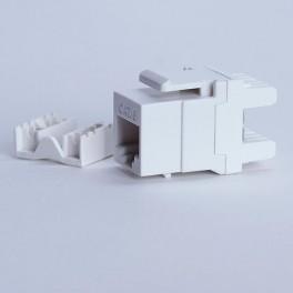 Moduł keystone UTP cat. 6 (RJ-45) 180° biały Digitalbox