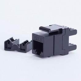 Moduł keystone UTP cat. 6 (RJ-45) 180° czarny Digitalbox