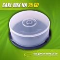 Esperanza Pudełko Cake Box na 25 CD - PAKOWANE W KARTON