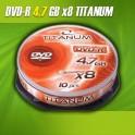 DVD-R TITANUM 8x 4,7GB (Cake 10)
