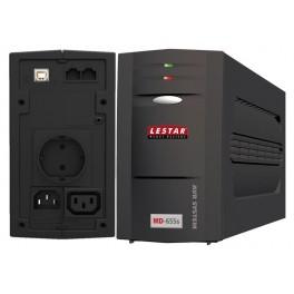 UPS Lestar L-INT MD-655s 375W AVR 1SCH 1xIEC USB RJ LED BL