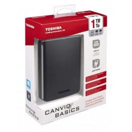 DYSK ZEWNĘTRZNY 2,5\'\' 1TB USB 3.0, CANVIO BASICS BLACK /TOSHIBA