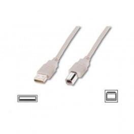 Kabel drukarkowy USB ASSMANN 2.0 A/M - USB B /M, 1,8 m