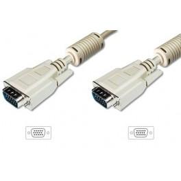 Kabel monitorowy ASSMANN VGA M/M 3m