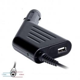 Zasilacz samochodowy do notebooka 18.5V/3.5A 65W 4.8x1.7mm