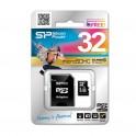 Karta pamięci MicroSDHC Silicon Power 32GB Class 10 + adapter